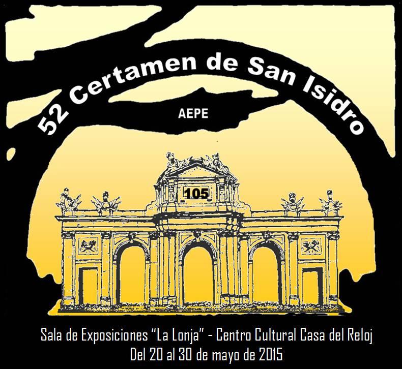Cartel 52 Certamen de San Isidro