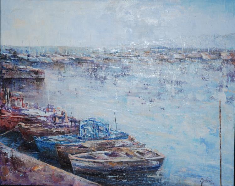 3 Segundo Premio Pintura. Griselda Giachero