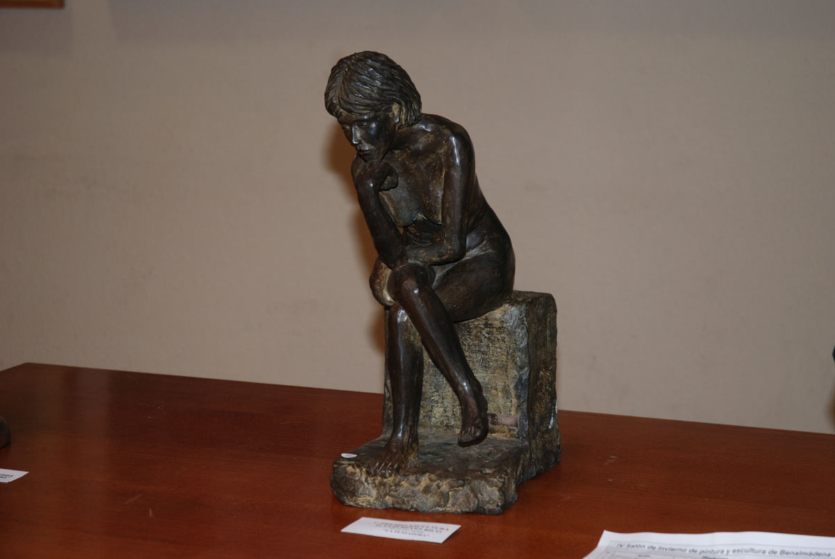 6 Primer Premio Escultura Luis Reyes