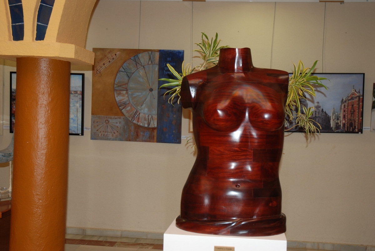 9 Menci+¦n de honor de la AEPE Escultura Pablo Rekalde