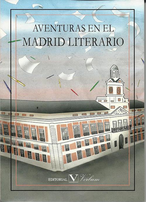 Portada Aventuras en el Madrid Literario