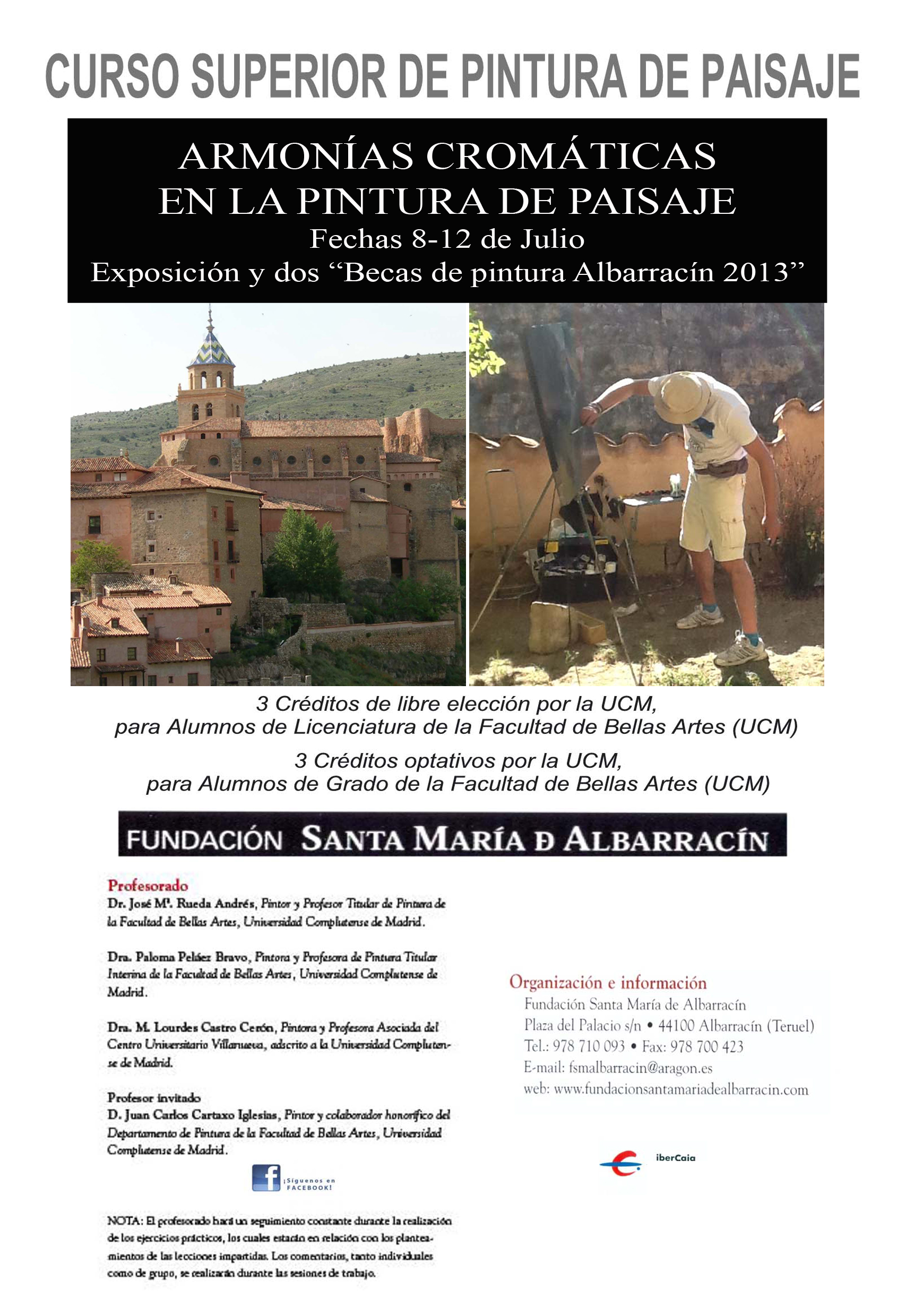 CARTEL ALBARRACIN 2013