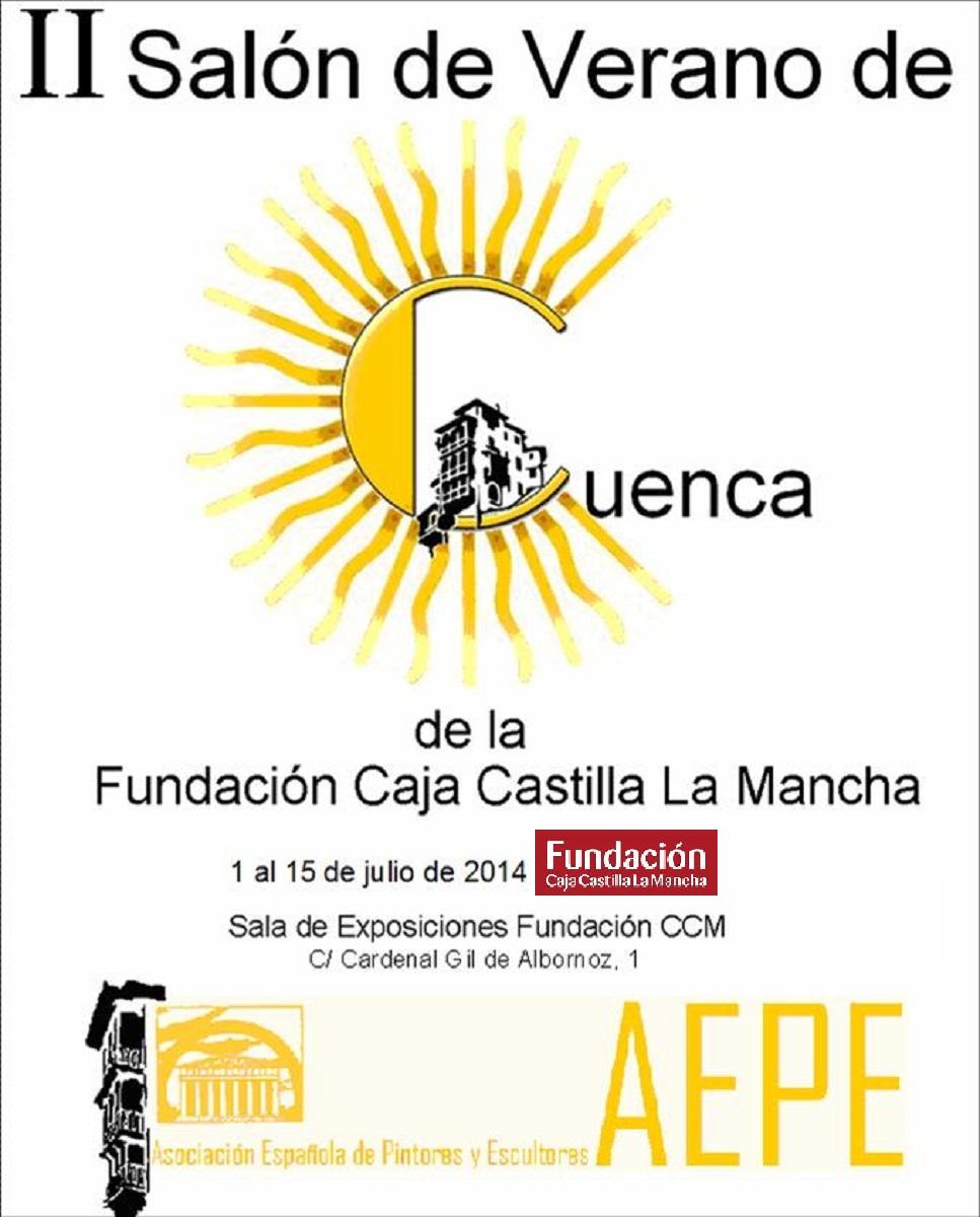 Cartel II Salón de Verano de Cuenca