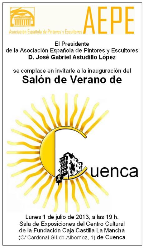 Invitación vertical I Salón de Cuenca