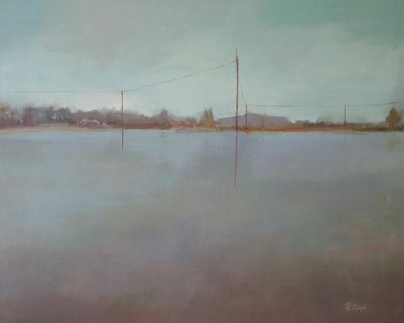 3. Lo que el agua esconde. +ôleo sobre lienzo 81x100cm.