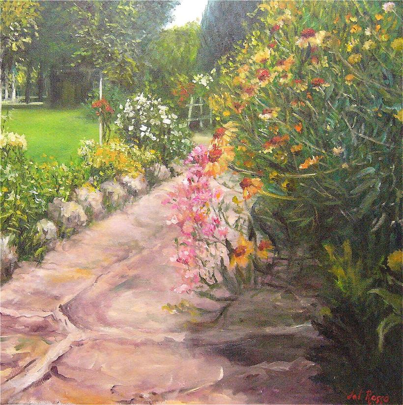 4- Il Giardino oleo 65 x 65