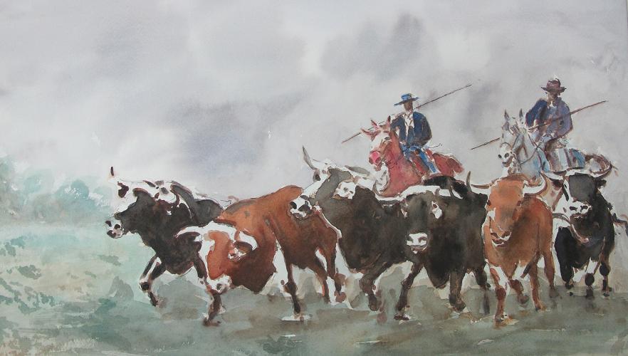 6 Toros en el Corredero