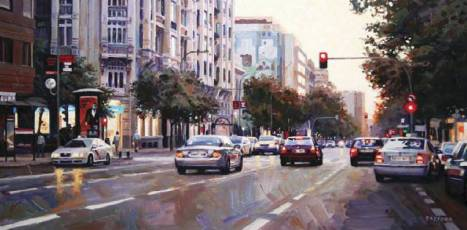 Calle Goya. Madrid