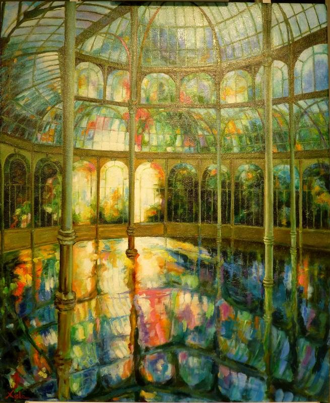 Cristal de colores 73x92