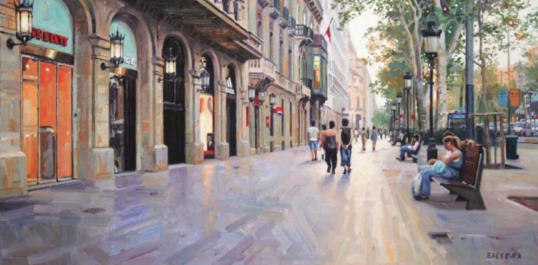 Paseo de Gracia. Barcelona
