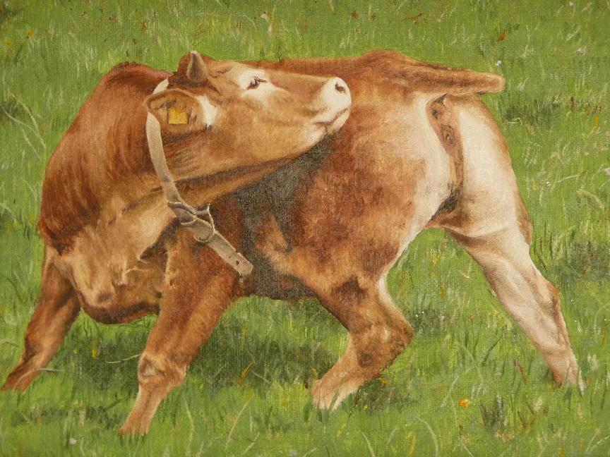 Vaca Otela 18x24