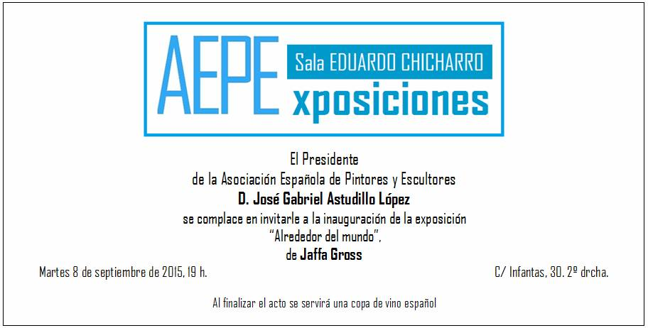 Invitación Jaffa Gross