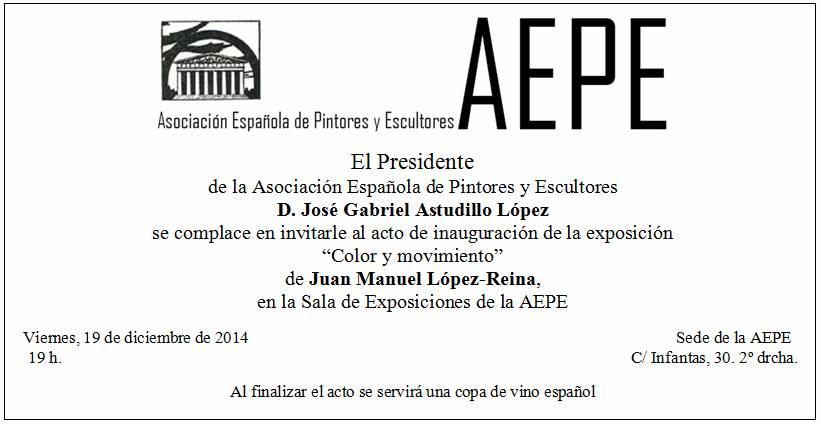 Invitación Juan Manuel