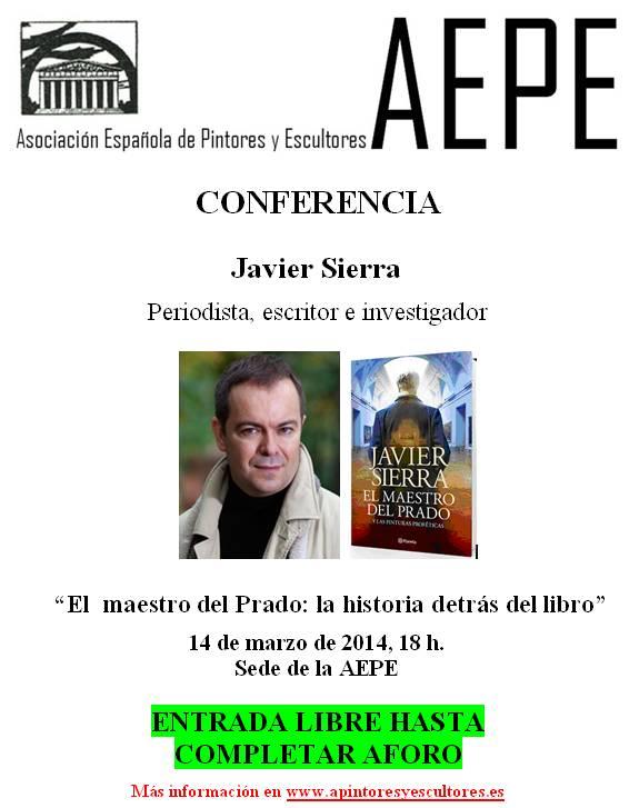 Cartel Javier Sierra