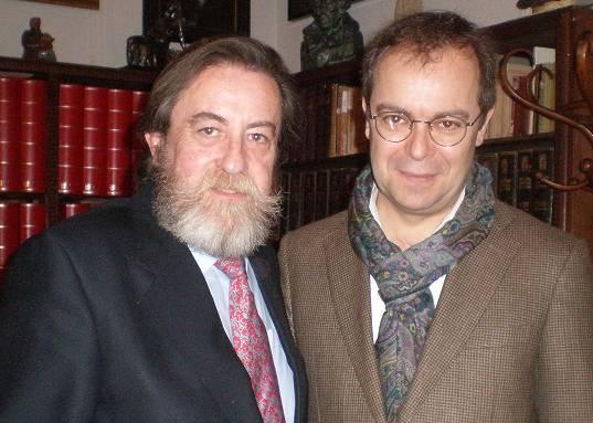 JG y Javier Sierra