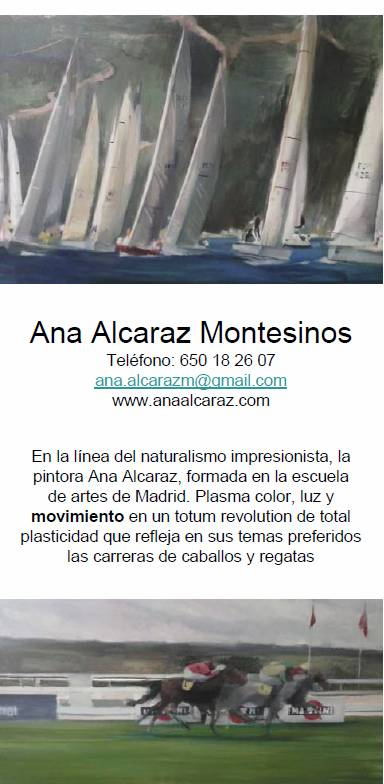 Ana Alcaraz díptico