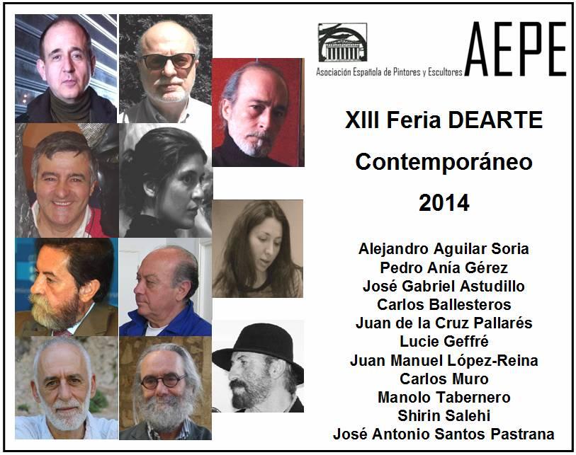 Foto Feria DEARTE participantes AEPE