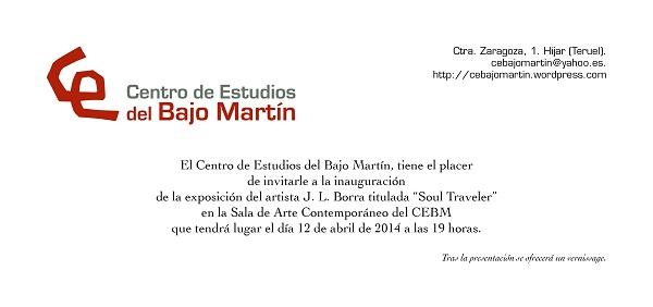 Juan luis borra, invitacion 1