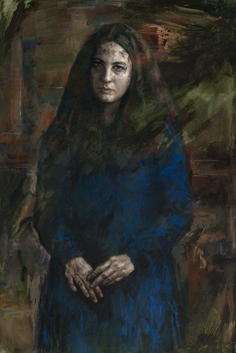 Lucie Geffre. Maya a abaja