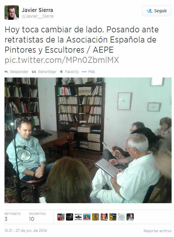 Twiter Javier Sierra 1