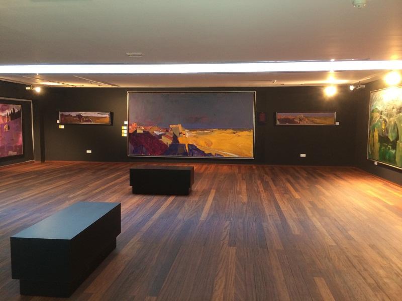 Sala dedicada al paisaje
