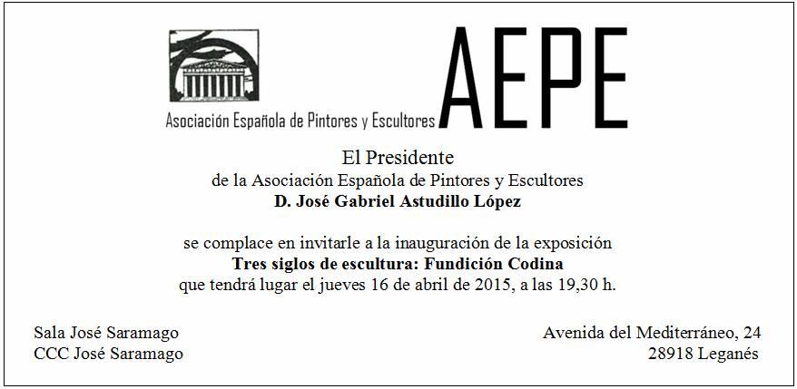 Invitación AEPE