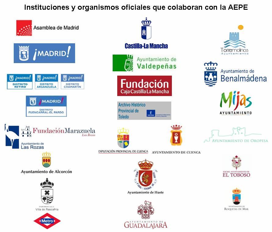 Instituciones y organismos oficiales