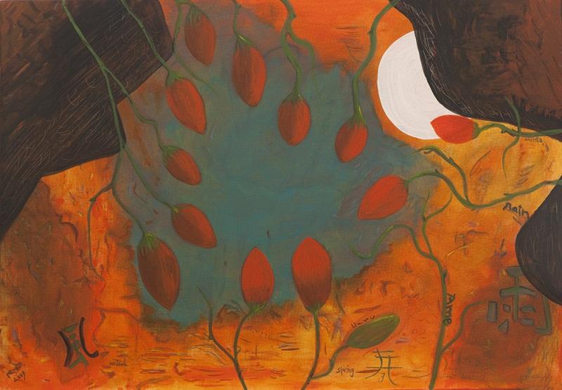 Pinturas de Raquel Barnatán