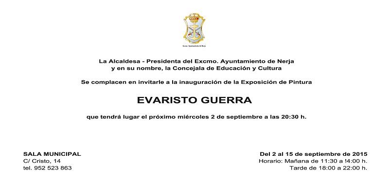 INVITACION SALA MUNICIPAL