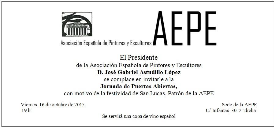 Invitación Jornadas Puertas Abiertas 2015