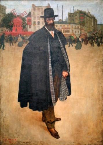 Henri Evenepoel. El español en Paris. Retrato del pintor Francisco Iturrino. 1899