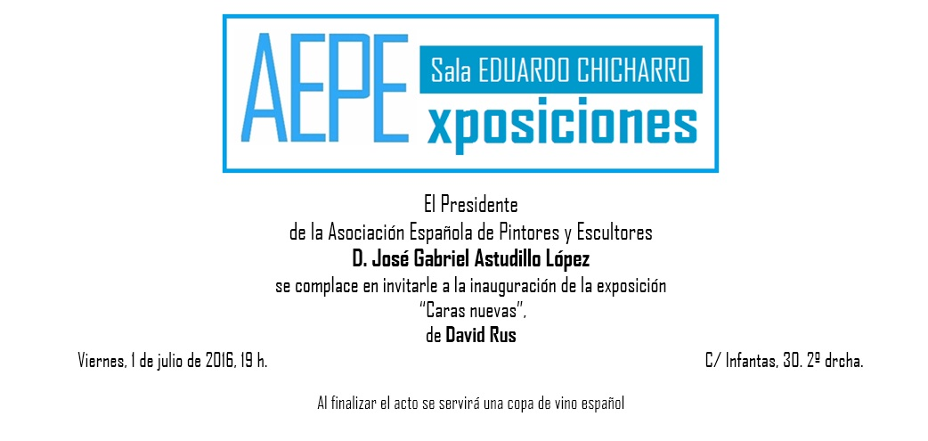 invitación sin borde David Rus
