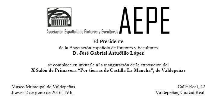 Invitación 2016