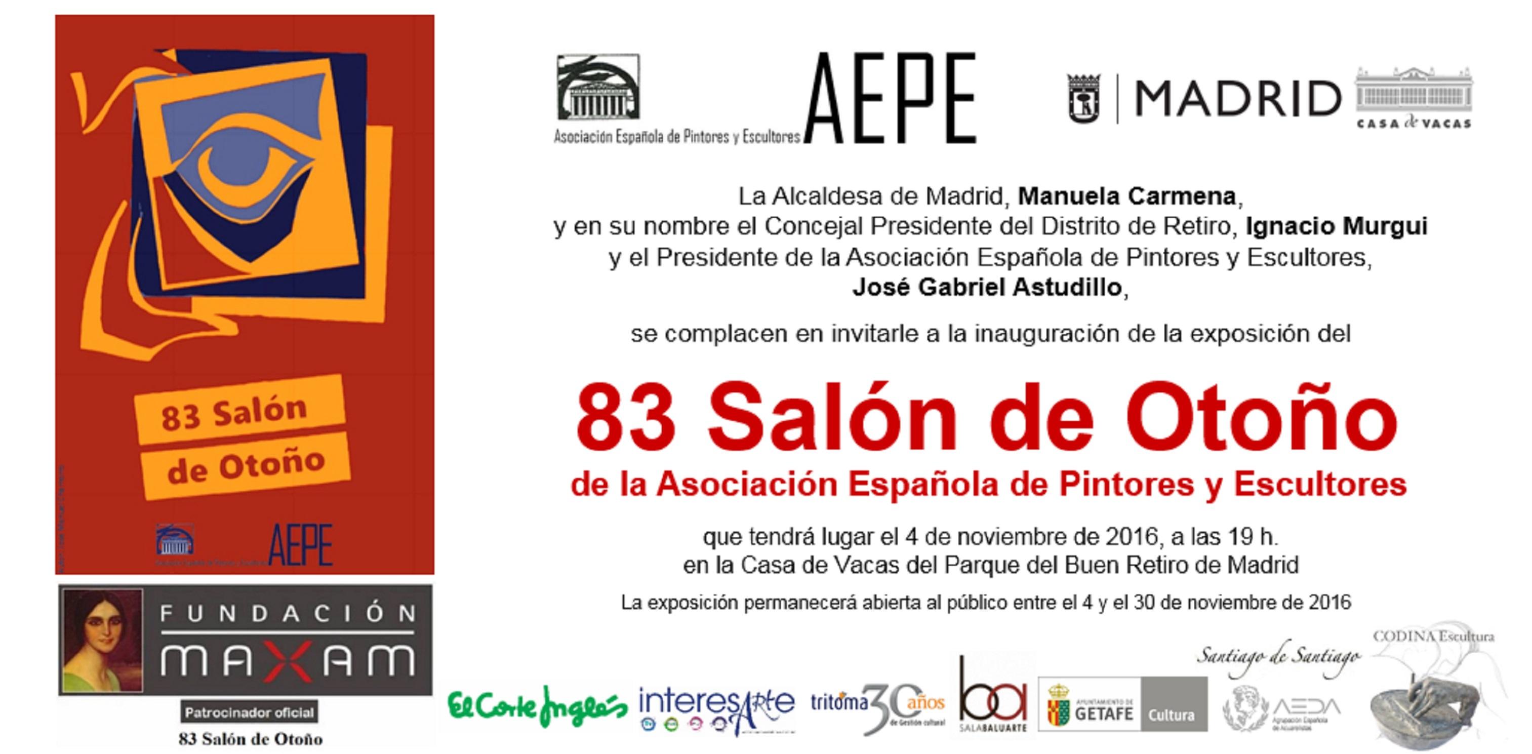 invitacion-aepe-83-salon-de-otono-2016