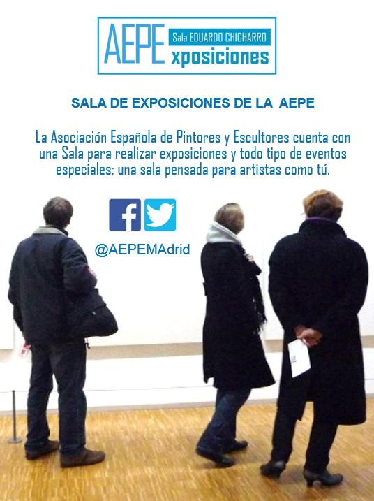 Anuncio Sala Exposiciones AEPE