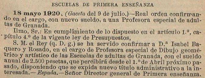 Isabel Baquero