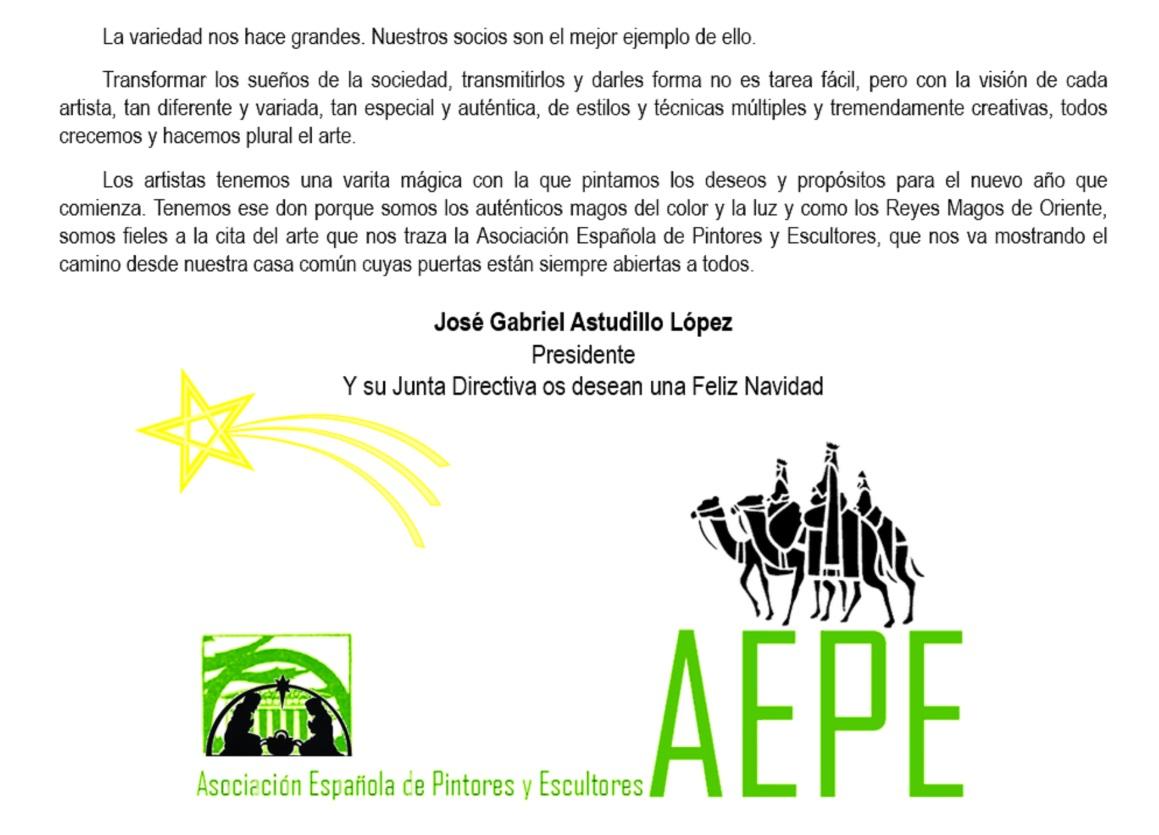 La AEPE celebra esta tarde su Copa de Navidad | Asociación Española ...